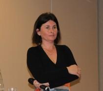 Marianne Vaugoyeau présentant son projet à Aptes