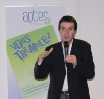 David Grabli présente son projet à l'assemblée générale