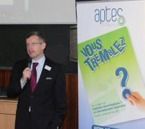 Fabrice Barcq, président de Aptes