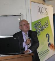 Gilbert Tibolla, vice-président de Aptes