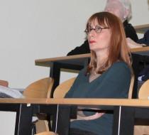 Le professeur Emmanuelle Apartis-Bourdieu, présidente du conseil scientifique de Aptes