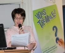 Roselyne Radigue, secrétaire de Aptes